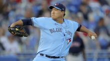 Ryu pitches 7 masterful innings, Blue Jays beat Red Sox 8-0