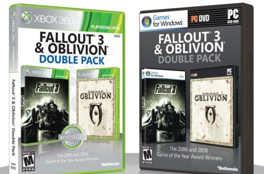 Fallout 3 and Oblivion unite in double pack on April 3