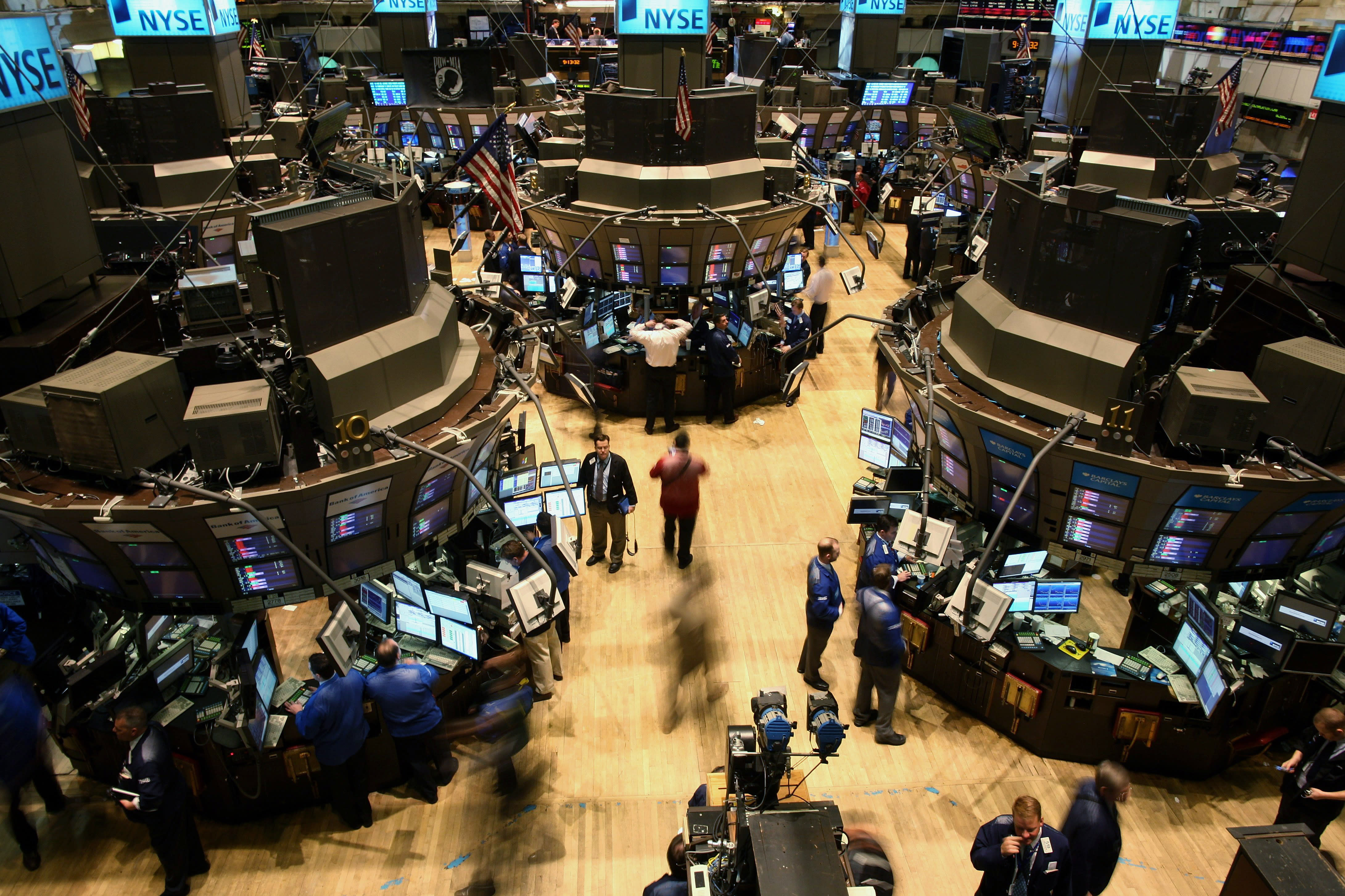 Stock market news live updates: Stocks mostly lower as earnings kick o... image