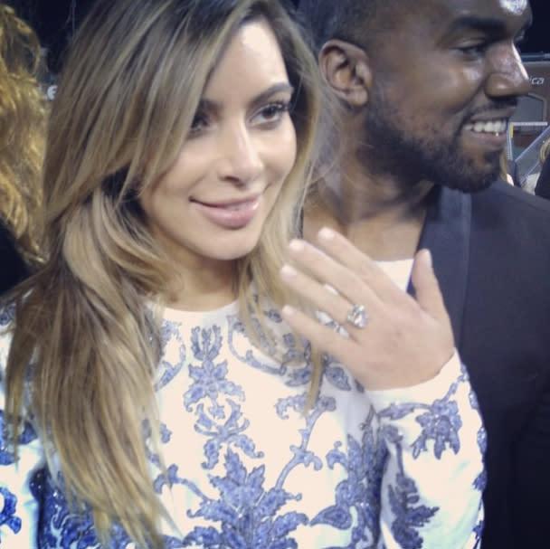 Kanye west kim kardashian hookup history