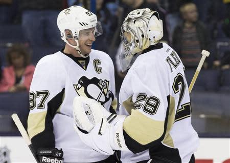 NHL: Pittsburgh Penguins at Columbus Blue Jackets