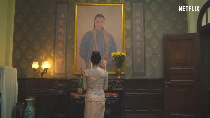 <strong>第五名:《彼岸之嫁》</strong><br>上架日期:2020-01-23<br><br>串流平台Netflix打造的原創亞洲驚悚影集《彼岸之嫁》是由台灣與馬來西亞共同製作,改編自旅美華裔作家朱洋熹的小說《鬼新娘》,背景設定在 1890年代的馬來西亞,劇中主打冥婚題材,也是Netflix少見的原創亞洲民俗影集,一推出之後果然吸引不少話題。<br><br>不過這齣《彼岸之嫁》整體劇情與採用配音的形式,似乎讓台灣觀眾有些水土不服,有人表示如果全劇是英語發音的話,可能就會少了些違和感。儘管如此,《彼岸之嫁》仍是今年討論度極高的驚悚影集之一,並以串流作品之姿強勢攻佔Yahoo上半年站內恐怖驚悚電影搜尋榜第五名。