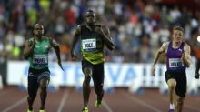 Bolt holds on to win 100 meters at final Golden Spike
