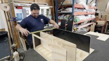 Slower manufacturing likely drag on small business optimism