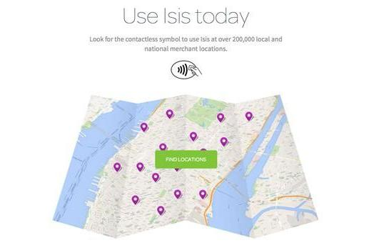 Isis nationwide rollout is now available for AT&T, T-Mobile and Verizon customers