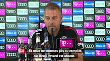 """Bayern - Flick : """"Pavard a fait une saison sensationnelle, ce ne sera pas facile sans lui"""""""