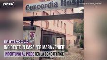 Incidente in casa per Mara Venier