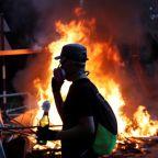 Violence brings Hong Kong to 'brink of total breakdown': police