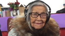 Happy birthday Persis Gruben! N.W.T. elder is 100 years old