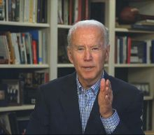 Biden raises idea of Democrats holding an online convention