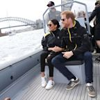 Meghan Markle Wore Sneakers for the First Time as a Royal Today