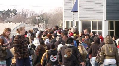 Housing Applications Draw Large Crowd