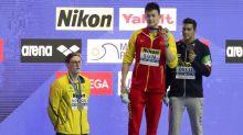 Horton protests Sun's gold at swim titles