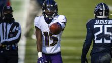 As noise builds for Ravens to pursue No. 1 receiver, GM Eric DeCosta remains bullish on young pass-catchers