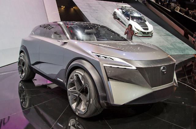 Nissan's IMQ concept looks more like a stealth fighter than a crossover