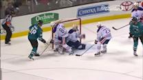 Pavelski's fancy footwork leads to Burns goal
