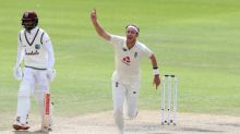 England's Broad takes 500 Test wickets