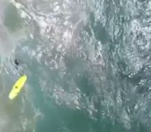 Watch As A Drone Saves Two Teen Swimmers From Heavy Surf In Australia