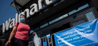 Walmart removes guns and ammo from shelves