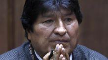 Evo Morales satisfecho de residir en Argentina