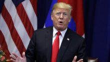 Trump is being mocked after calling for an end to 'cocoa' during drug policy event: 'Don't declare war on Swiss Miss'