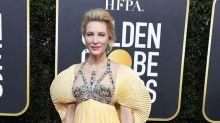 Cate Blanchett sufre un accidente con una sierra mecánica