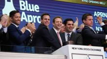 Blue Apron shares make bland debut