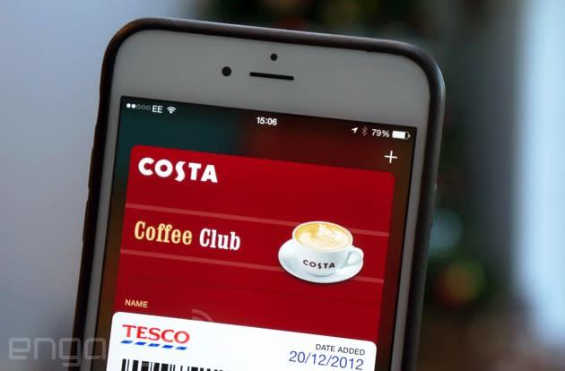Costa's iPhone app gains Passbook support, but doesn't use its best features