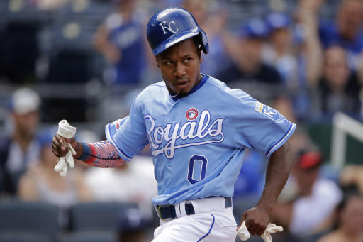 Yankees get speedy OF Terrance Gore from Royals for cash