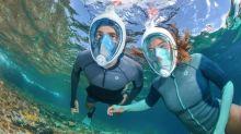 Coronavirus: un masque de plongée Decathlon utilisé à l'hôpital en Italie