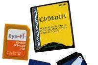 Synchrotech's CFMulti adapter brings Eye-Fi support to CF cameras