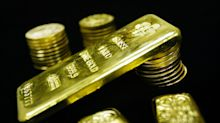 Gold drops on firmer dollar, higher bond yields