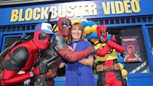 Deadpool enlists Lorraine Kelly to open new Blockbuster Video