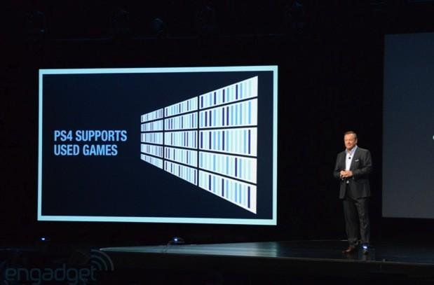 Sony PS4 will support used games: no restrictions, online check-in or authentication required