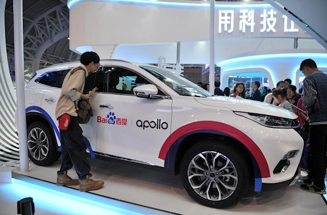 Baidu completes its computer for self-driving cars