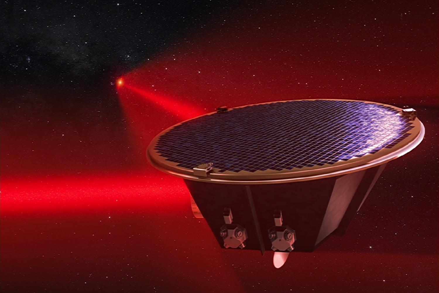 European space agency s lisa mission to seek ripples in for Space mission fabric