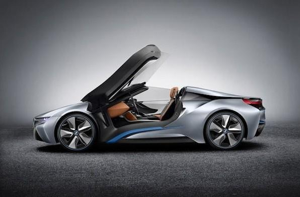 BMW adds extra sportiness to its i-series lineup, unveils i8 Concept Spyder