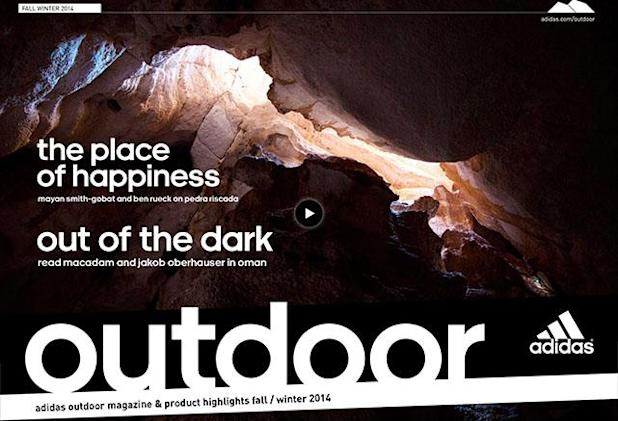Discover new adventures with Adidas Outdoor Magazine