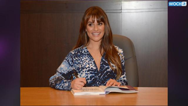 Lea Michele Talks Drinking And Peeing Her Pants