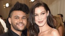 Bella Hadid shoots down rumors she's back together with the Weeknd