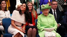 The Queen Helped Meghan Markle with Royal Protocol