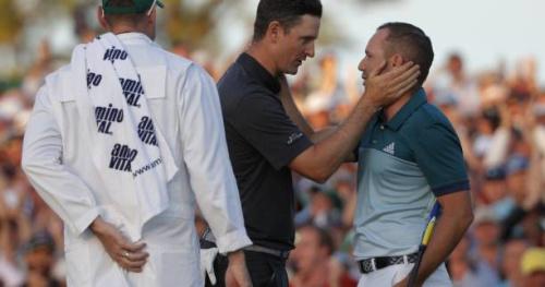Golf - Masters - La victoire de Sergio Garcia unanimement saluée sur Twitter