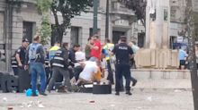 FA 'strongly condemns' England fans as violence erupts in Portugal