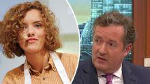 'I'd rather die': Bake Off star Ruby Tandoh calls Piers Morgan a 'sentient ham'