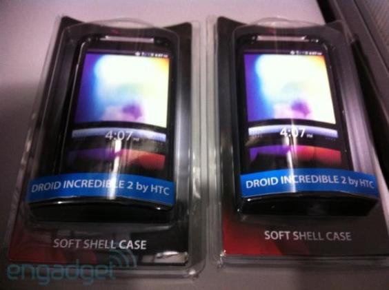 HTC Incredible 2 prepares for imminent launch, Casio's Commando provides backup