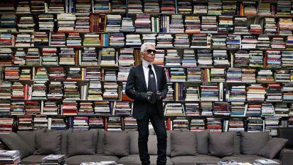 Karl Lagerfeld : découvrez son incroyable bibliothèque