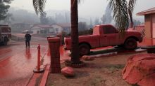 Firefighters battle raging Southern California wildfire