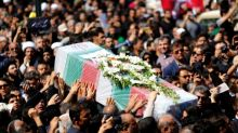 Thousands attend funeral for Iran attack dead