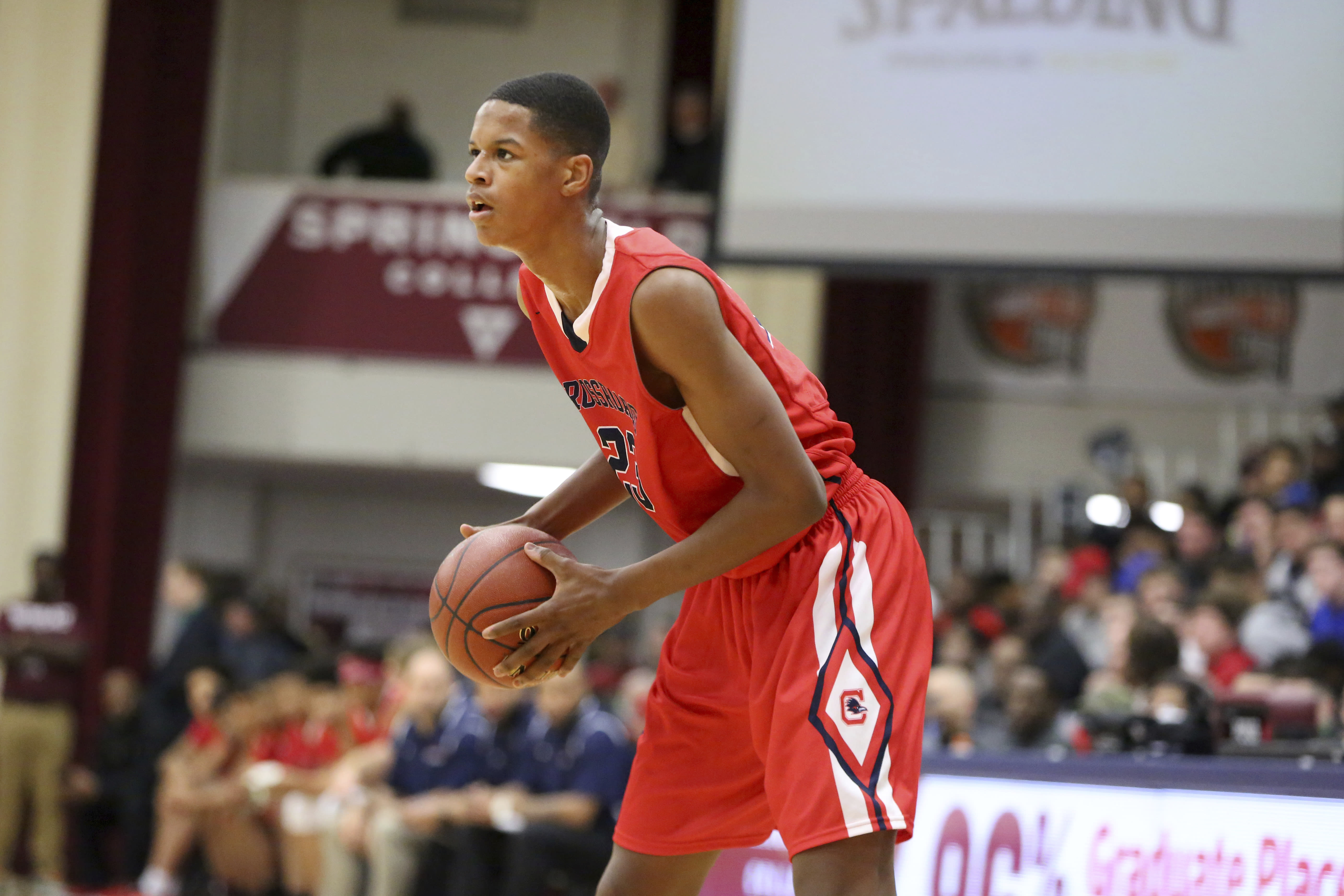 Shareef ONeal the son of Shaquille had the gamewinning basket for Crossroads on Thursday night in a 6260 win over Beverly Hills It was part of a