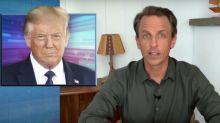 Seth Meyers: All Trump Has Left Is 'Racist Grievance Politics' (Video)